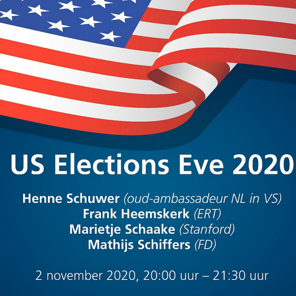 US Elections Eve 2020 - Holland House Brussels